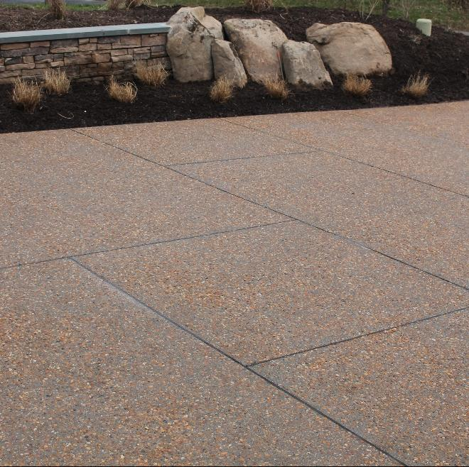 - Exposed Aggregate Concrete Walks, Patios And Drives